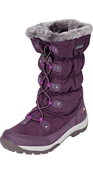 Viking Jade GTX Boots Girl Aubergine/Coral